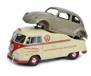 Schuco VW T1a Bus with Brezelkäfer body be 1:18 450016300