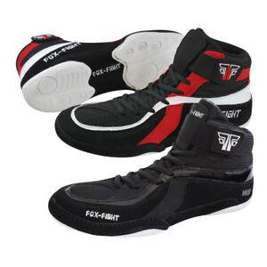 FOX-FIGHT Ringer Schuhe Wrestling/ Wildleder Ringerschuhe Ringer Stiefel