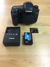 Canon EOS 7D 18.0MP Digital SLR Camera Body with extras!