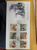 New zealand stamps  FDC 1997 Cattle  Issue