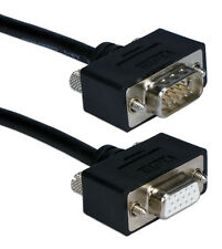 25 ft VGA cable assembly, Male to Female, Triple Shielded