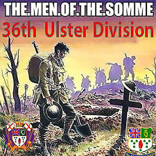 **The Men Of The Somme **  U.V.F -  **NEW** - LOYALIST/ULSTER/ORANGE CD