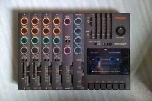 TASCAM Porta 07 Ministudio 4-track cassette recorder w/ PSU + 14 unused tapes!