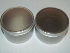 "Tool Shop Metal Storage Jars - (2) - New 2""x3"" (Rm-2)"