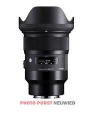 Sigma 24mm F1.4 DG HSM Art per Sony E-mount