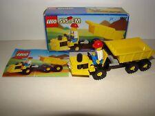 "LEGO SYSTEM: 6532 "" DIESEL DUMPER "" complet avec boite et plan"