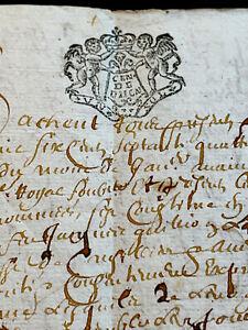 1674 ANTIQUE MANUSCRIPT   8 pages