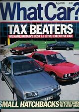What Car? Cars, 1980s Transportation August Magazines