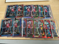 Jalen Hurd Prizm rookie lot ssp blue red blue wave refractors Rainbow Start