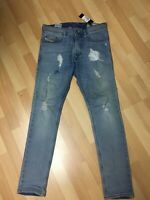 NWD Mens Diesel TEPPHAR MADE ITALY Stretch Denim R25H8 BLUE X Slim W28 L30 H6