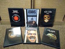 Stanley Kubrick Dvd Lot.Eyes Wide Shut,The Shining,Clockwork Orange,+3.Mint!