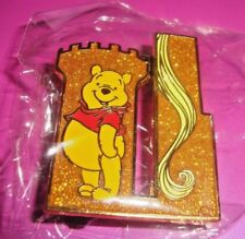 Disney Winnie The Pooh D23 EXPO Glitter 2015 Castle Puzzle Pin LE 300