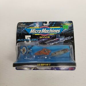 Micro Machines Babylon 5 Space No. 6, New, Packaging Damaged