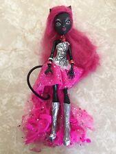 """Monster High 11"""" Doll CATTY NOIR BLACK CAT 13 Wishes Singer"""
