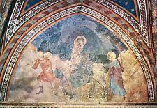 Alte Kunstpostkarte - S. Gimignano - Stiftskirche - Die Flucht nach Ägypten