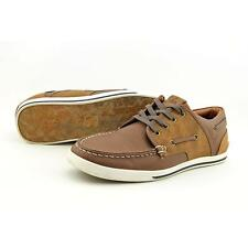 Aldo Costamolino Men US 8 Brown Boat Shoe Pre Owned  1218
