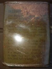 US ARMY VIETNAM WAR ISSUE TIN OF LICE CRAB MEDICAL treatment