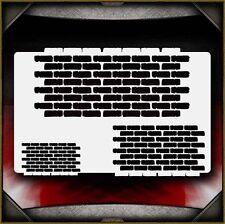 """Brick Background"" Airbrush Stencil Template Airsick"