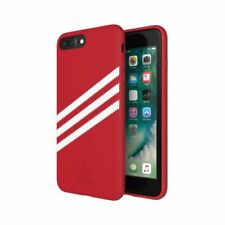 ORIGINAL ADIDAS Coque Pour Iphone 8 7 6+ Plus verrouillage du clavier étui rouge