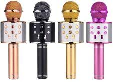 Wireless Bluetooth Mikrofon KTV Karaoke Mic Microphone Lautsprecher Bluetooth