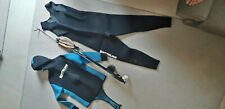 Diving Spearfishing Wetsuit 7mm HEIWA neoprene  - Size XL