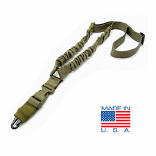 CONDOR Cobra Double Bungee 1 Point Rifle Sling with HK Snap Hook - Tan #US1001