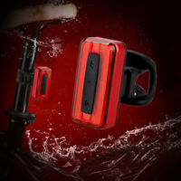 Rear Light Waterproof Cycling Bike Signal Tail Lamp USB Rechargeable for Bicycle