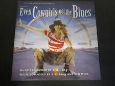 Even Cowgirls Get the Blues (Original Soundtrack) - k.d. lang 1993 Sire CD album