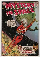 Mystery in Space #90 nice 1st Adam Strange Hawkman team-up 1964 DC create-a-lot