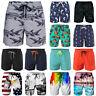 Men's Beach Board Shorts Swim Trunks Quick Dry Surf Pants Swimwear Plus Size V79