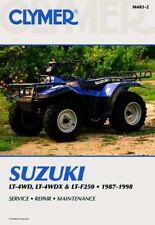 Suzuki LT4WD LTF4WDX & LT-F250 87-98 Workshop Manual