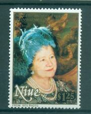 H.M. QUEEN ELIZABETH MOTHER 90th BIRTHADAY - NIUE 1990 set
