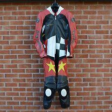 Hein Gericke MOTO HI Protec 11 Pro Sports Racing Costume Cuir Étiquette UE 54