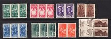 SOUTH  AFRICA SG97-104 THE 1942-4 GVI SET OF 8 MOUNTED MINT CAT £48