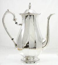"International Sterling Silver Coffee Pot 10 Cups Hollowware 9 1/4"" Pattern149 01"