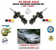 FOR DAEWOO LACETTI 1.4 1.6 1.8 2004->on 2X REAR LEFT RIGHT SHOCK ABSORBERS SET