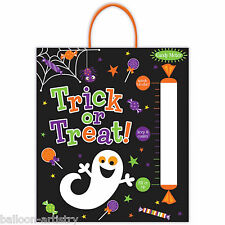 2 Spooky Halloween Party Trick Or Treat Sweet Candy Meter Loot Tote Bags