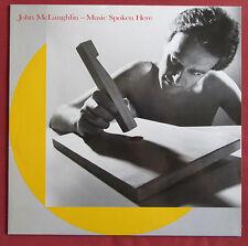 JOHN MCLAUGHLIN  LP FR ORIG MUSIC SPOKEN HERE