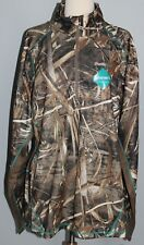 NEW Cabelas Womens OutFitHER Lewiston 1/4 Zip Hunting Jacket 2XL REALTREE Max-5
