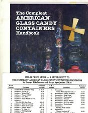 Glass Candy Containers - 860+ Pictured and Identified / Scarce Book + Values