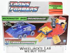 Groundshaker Micromaster MIB 100% Complete 1989 Vintage Hasbro G1 Transformers