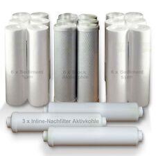 Ersatzfilter Osmose  RO Umkehrosmose  für 3 Jahre, 21 Filter Wasserfilter SET 1