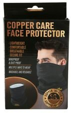Face Mask Copper Infused Face Gaiter Polyester Cover Breathable Mask Washable