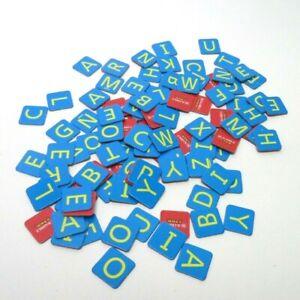 Scrabble Junior Crossword Game Replacement Parts- Full Set 105 Letter Tiles