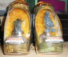 2008 Titanium Series - Indiana Jones - Die Cast (Jungle Cutter + Hanger 51 Rocke