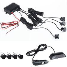 Stimme Buzzer Auto Parkplatz Sensor Kit 4 LED Display Rück Alarm Radar System