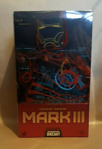 Hot Toys 1/6 (12 inch) Iron Man Mark 3 Diecast MMS256-D07 (Missing manual)
