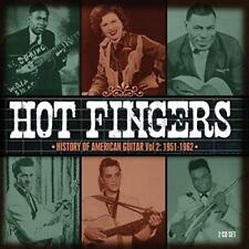 Hot Fingers - History Of American Guitar Vol.1: 1951-1962 - Various Ar (NEW 2CD)