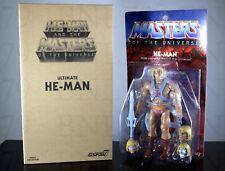 HE-MAN Ultimate SUPER7 S7 Club Grayskull Filmation MOTU Figure - NEW IN HAND