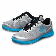 Zapatos de Bolos para Hombres Brunswick Fuze Plateado Azul de Cielo